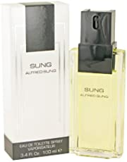 Alfred Sung Sung Eau de Toilette Spray for Women, 3.4 Ounce