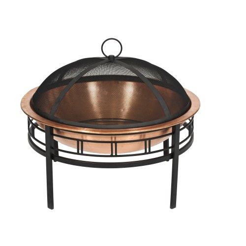 [CobraCo Copper Mission Fire Pit FBCOPMISN-C] (Mission Style Fire Pit)