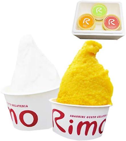 海鮮蟹工房 Rimo (旧リスの森) アイスクリーム ジェラート 6個セット