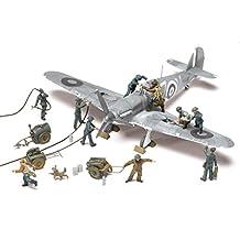 Airfix Plastic Models Kits A04702 RAF Ground Crew Plastic Multi-Part Figures (1:48th Scale)