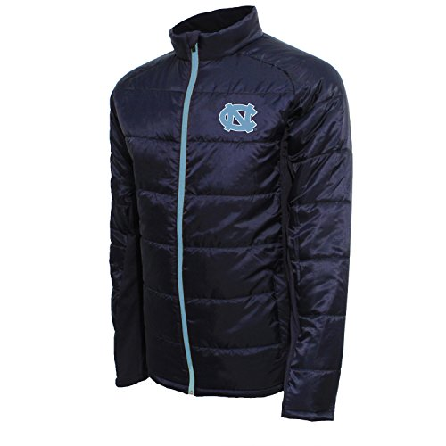 NCAA Mens Quilted Front Panel Bonded Jacket