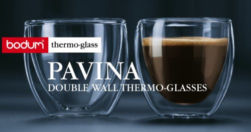 Bodum Pavina 2 5 Ounce Double Wall Thermo Glasses