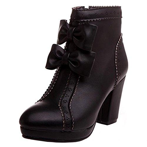 Boot Boot AIYOUMEI Classic WoMen Boot Black AIYOUMEI WoMen Black WoMen Classic Classic Black AIYOUMEI AIYOUMEI vIOwqxAIa