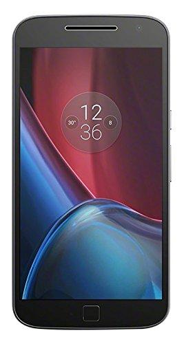 "Motorola Moto G4 Plus - Smartphone libre Android (4G, 5.5"", cámara de 16 MP, 2 GB de RAM, memoria interna de 16 GB ), color negro"