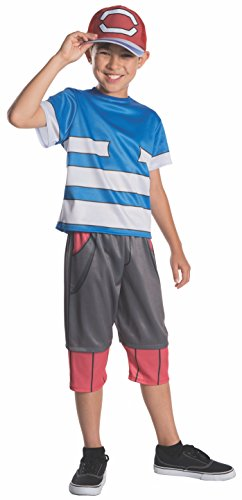 Rubie's Pokemon Child's Ash Costume, Medium -