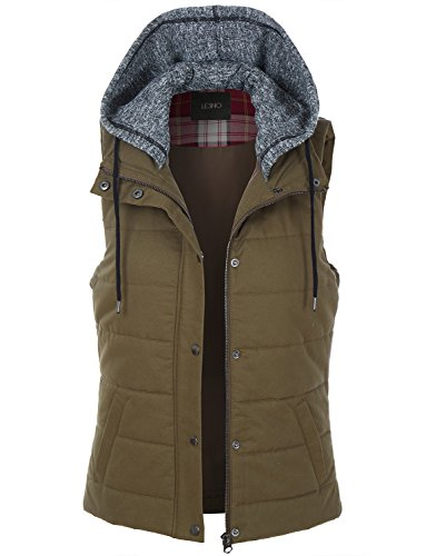 Quilted Puffer Vest - 2