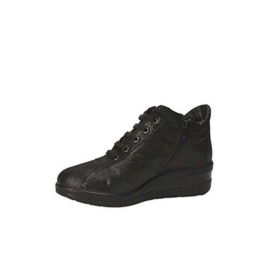 Lacets Cinzia Iv5416c Chaussures Chaussures Femmes Noirs gb Cinzia Doux Avec H6np0xwn