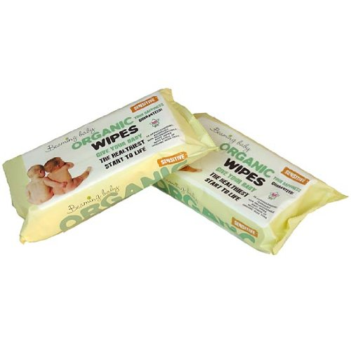 Beaming Baby Organic Baby Wipes - 12 x packs of 72 (864 Wipes) BB70001