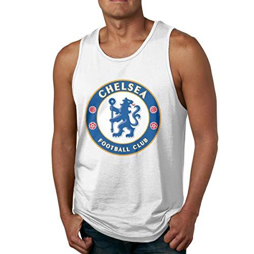 Super Sale008 Men's Men's Fc Barcelona Soccer Lover Tank Tops Fitness T-Shirt Gym Muscle Bodybuilding -