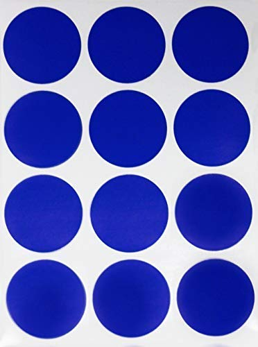 Round Circular Labels 1.5 Inch 38mm For Inventory Office Marking Dots 156 Pack Selected Material Office