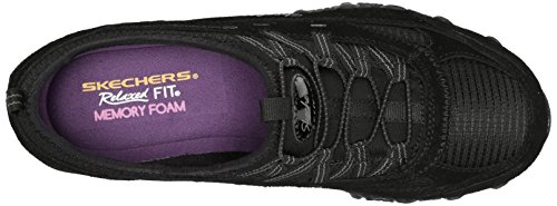 Skechers Mujeres Bikers MoveHombrest Fashion Sneaker Black
