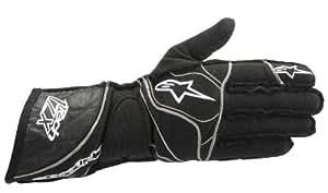 Alpinestars 355031310-M Tech 1-ZX Gloves, Black, Medium