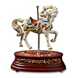 The San Francisco Music Box Company Heritage Single Horse Animated Figurine