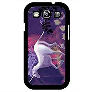 Awesome The Last Unicorn Funda,The Last Unicorn Samsung Galaxy S3 Funda,Hard Plastic Case Cover Snap on Samsung Galaxy S3