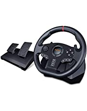 PXN V900 PC Racing Wheel, Universal Usb Car Sim 270/900 degree Race Steering Wheel with Pedals for PS3, PS4, Xbox, One,Xbox Series X/S, Nintendo Switch