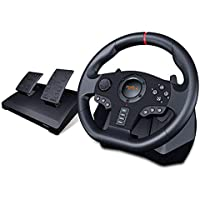 PXN V900 PC Racing Wheel, Universal Usb Car Sim 270/900 degree Race Steering Wheel with Pedals for PS3, PS4, Xbox, One…