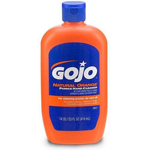 0957 08 8PK Natural Orange Cleaner Scrubber