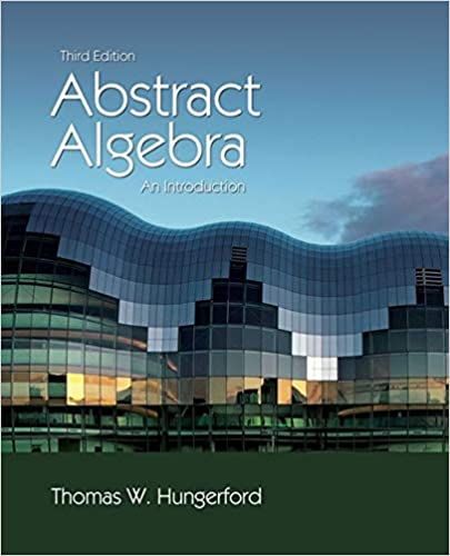 abstract algebra hungerford homework solutions
