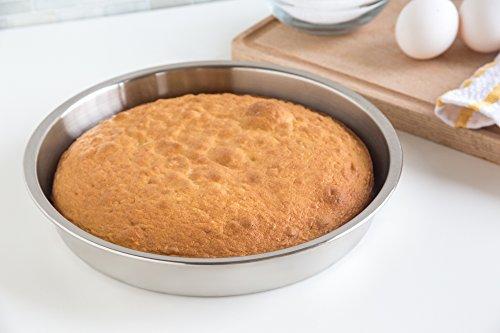 Fox Run 4865 Round Cake Pan, Stainless Steel by Fox Run (Image #3)