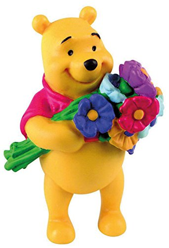 Bullyland Winnie The Pooh with Flowers Action Figure ()