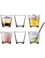 Pasabahce 52516 – 6 glasset för Cocktails juicer vatten whisky glas set, ~ 250 ml – 6 stycken