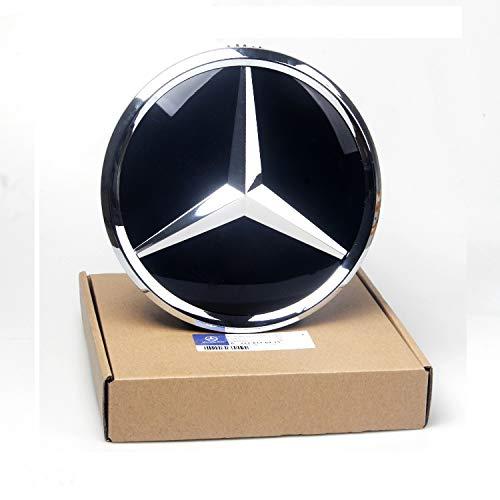 C-class Amg (Auto Sport Emblem Logo Grid Badge Car Front Emblem Mirror Surface For Mercedes Benz A/B/C/CLS/E/GLK/R Series)