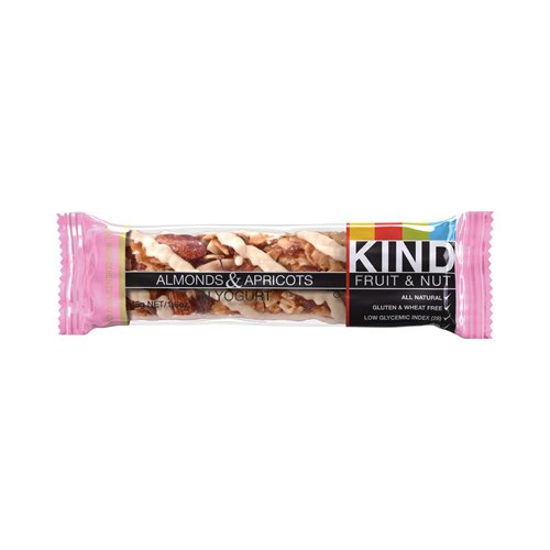 Kind Bar - Almond and Apricot with Yogurt - Case of 12 - 1.6 oz (Apricot Yogurt Bars)