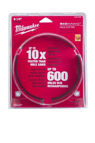 (Milwaukee 49-56-9065 6-1/4-Inch Big Hawg Hole Cutter)