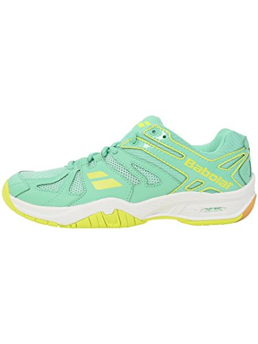 UK Shoes Shadow Babolat Teal Badminton Womens Team 5 Yellow P6P8Ow