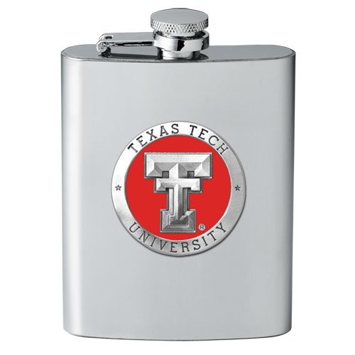 (Texas Tech Red Raiders 8 oz Stainless Steel Flask - NCAA College Athletics)