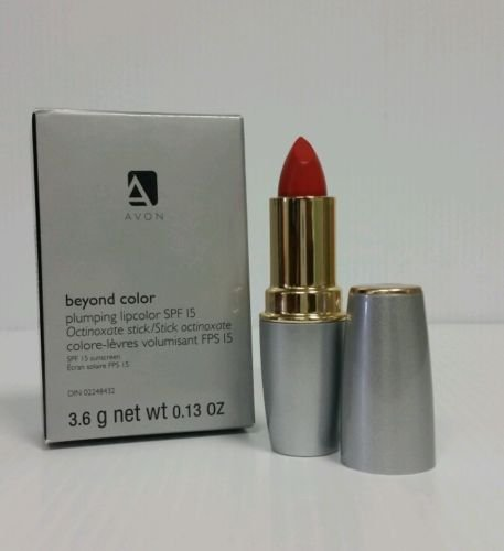 Avon Plumping Lip Conditioner Plump Beyond color Terracotta with Double the Retinol