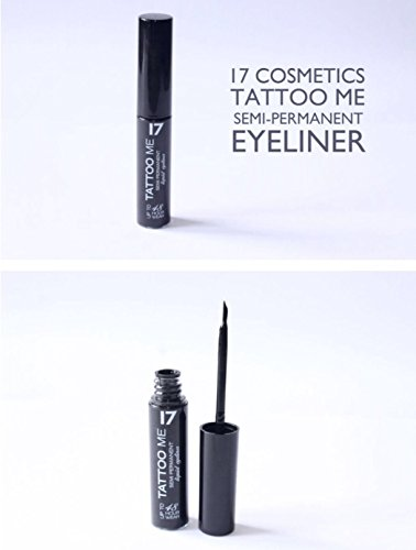 Seventeen Semi Permanent Liquid Eyeliner - Tattoo Me