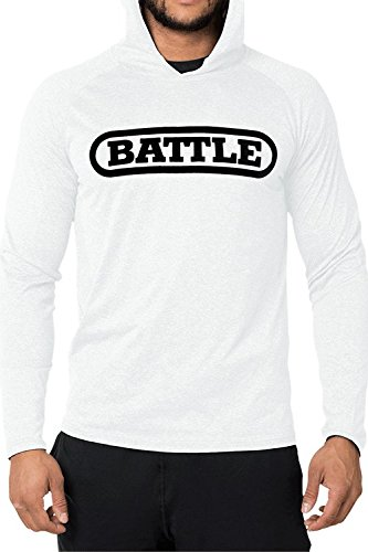 Battle Light Action Hoodie - White