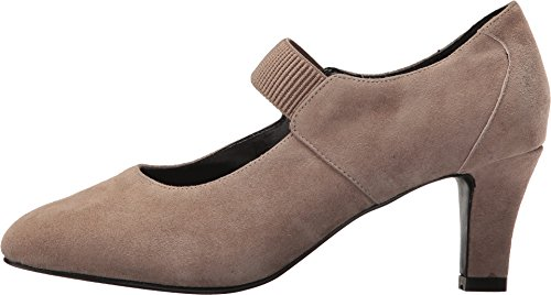 David Tate Womens Dixie Taupe Suede