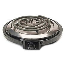 Maxi-Matic ESB-300X Elite Cuisine 750-Watt Single-Burner Electric Hot Plate, Black