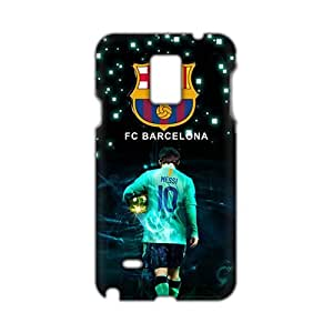 Fortune 3D Case Cover FCB Messi Phone Case for Samsung Galaxy Note4