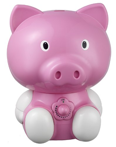 SPT Cute Animal Series 0.5 Gal. Cool Mist Ultrasonic Humidifier Pink SU-3882