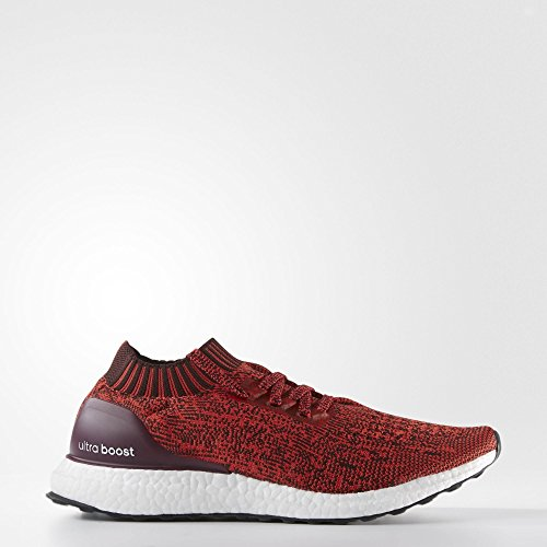 Cheap Adidas UltraBoost Uncaged Men's Running Shoes Dark Burgundy/Tactile Red by2554 (9.5 D(M) US)