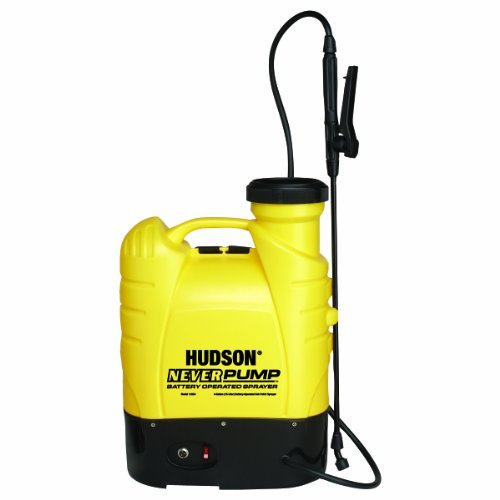 - Hudson 13854 Never Pump Bak-Pak 4 Gallon Battery Operated Sprayer