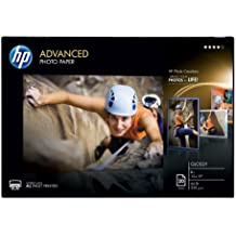 HP Photo Paper Advanced, Glossy, (13x19 inch), 20 sheets