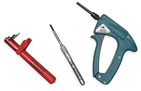 OK Industries G100 Industrial Speed Wrap Wire Wrapping Manual Hand Tool Gun Unit