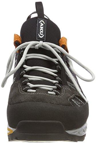 AKU Tengu Low GTX, Stivali da Escursionismo Uomo Nero (Black/Orange 108)
