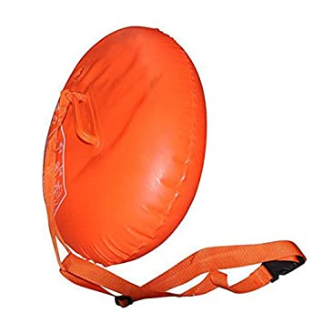 Hongfei Equipo de agua natación airbag boya de seguridad adulto Bolsas de aire dobles engrosamiento PVC