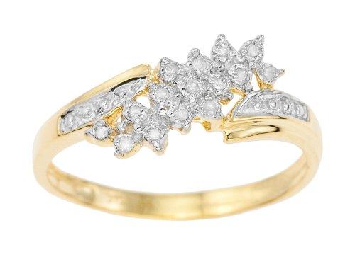 Bague - E13228877 - Femme - Or jaune (9 carats) 1.81 Gr