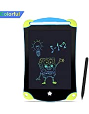 13Inch LCD Writing Board Clearly EWriter Digital Graphics Tablet Memo Message Notice Board Drawing Art for Liquid Crystal LCD Paper with Lock Screen Function for Children School Coffee Shop Kitchen