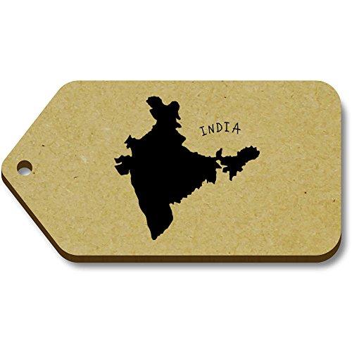 hot sale online 536d2 ff6e6 Azeeda 34mm equipaje La Etiquetas Regalo India  De 10 66mm  país X  tg00058621 4OCq4wr