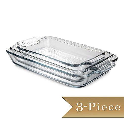Rectangular Baking Dish Set - 6
