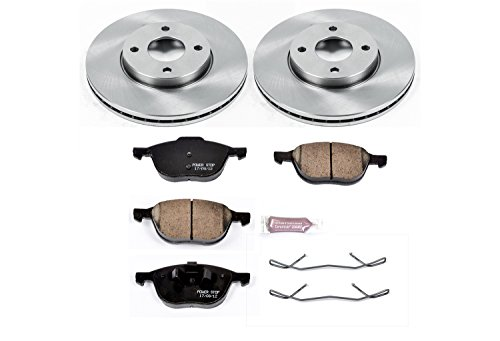 (Autospecialty KOE1377 1-Click OE Replacement Brake Kit)