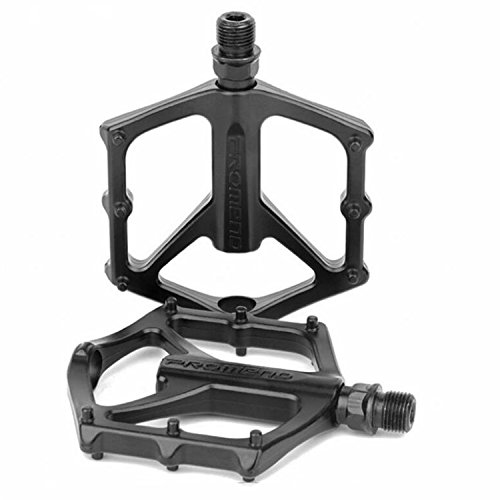 ODIER Mountain Bike Pedal Lightweight Aluminium Alloy Pedals for BMX Road MTB Bicycle (Mountain Bike Pedals Road Bike)