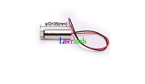 780nm 50mW Infrared IR Line Laser Module Diode Generator Focusable